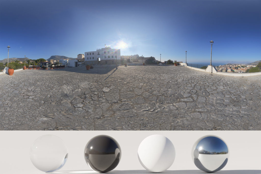 Download an Awesome HDRi Square, Landscape and Sun