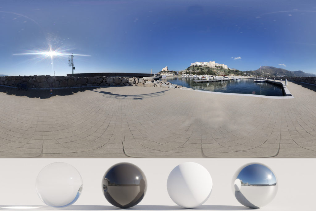 Download an Awesome HDRi Port, Landscape and Sun
