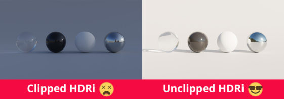 Unclipped HDRi