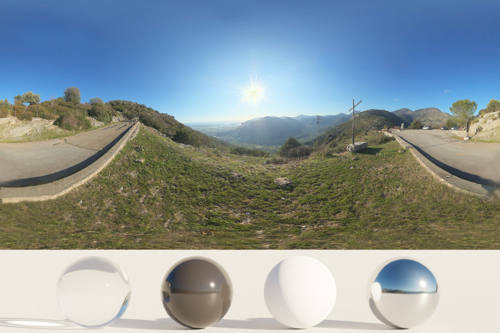 Download an Awesome HDRi Mountains and Panorama