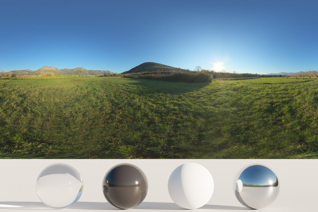 Download an Awesome HDRi Landscape, Mountains and Grass