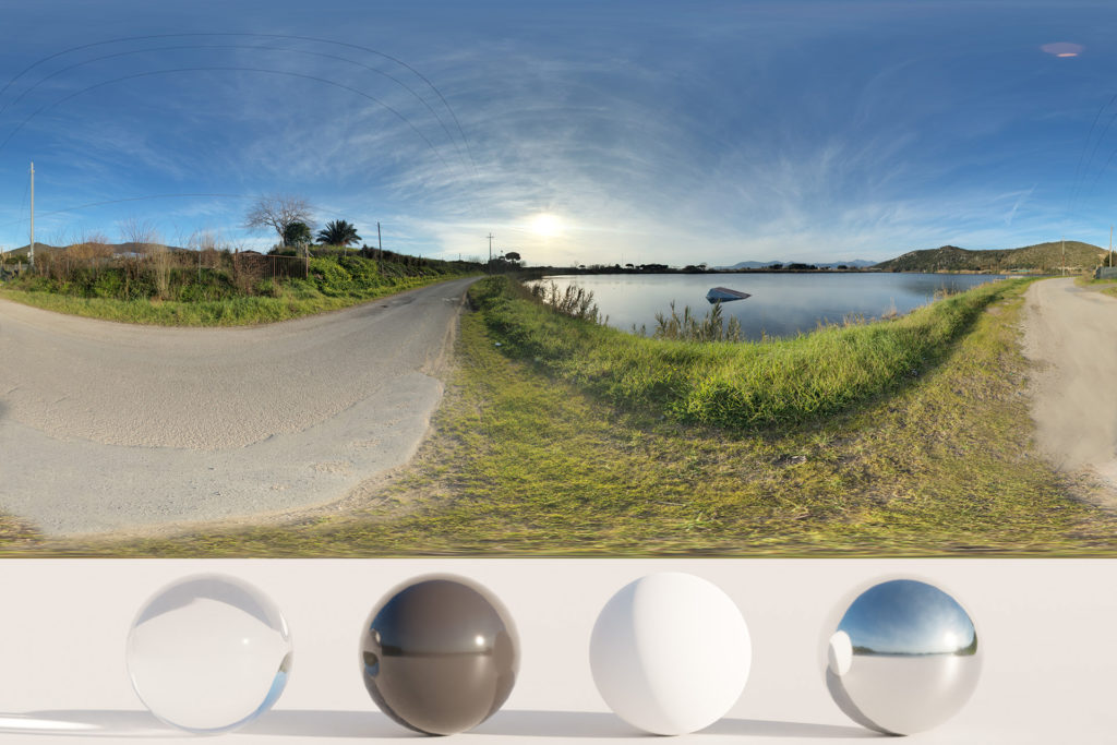 Download an Awesome HDRi Lake and Road