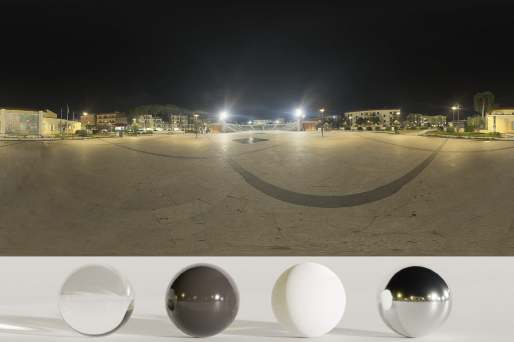 Download an Awesome HDRi Night, square and lights