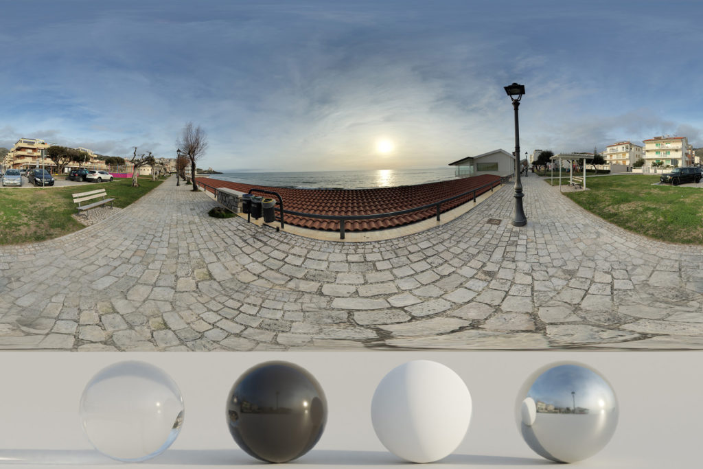 Download an Awesome HDRi Beachfront and Sunset