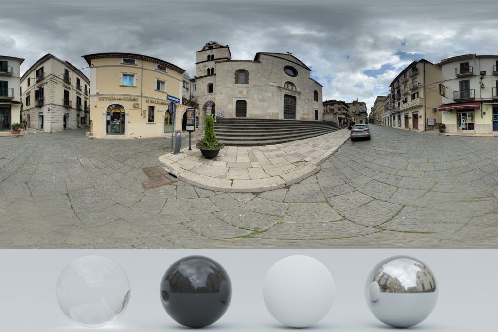 Download an Exclusive HDRi Church and Buildings