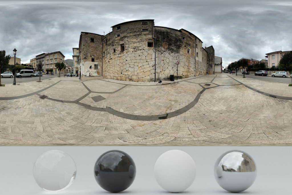 Download an Awesome HDRi Cloudy and Old Buildings