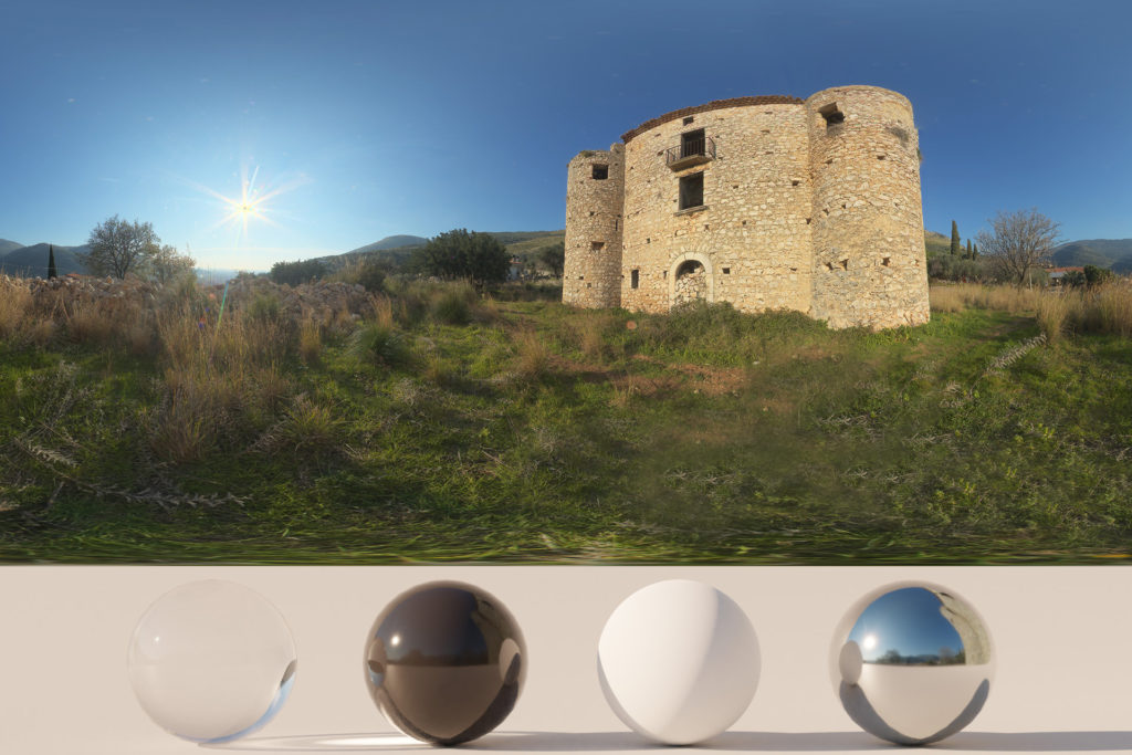 Download an Awesome HDRi Castle and Nature