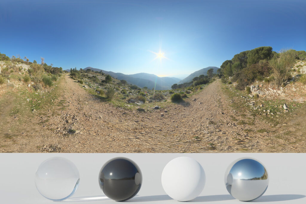 Download an Awesome HDRi Trail, Mountains and Landscape