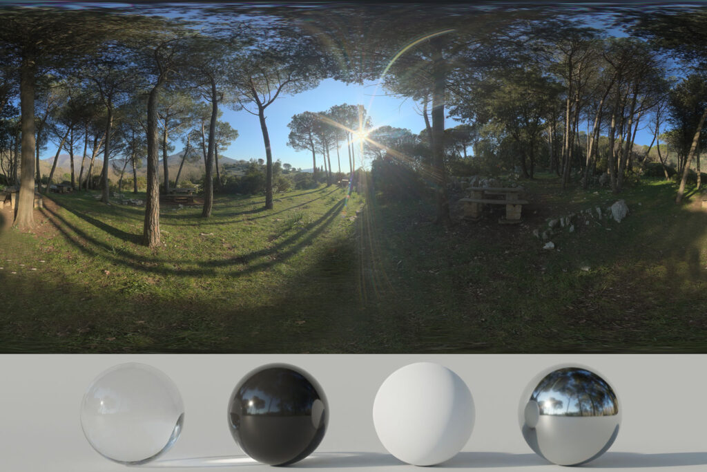 Download an Awesome HDRi Woods