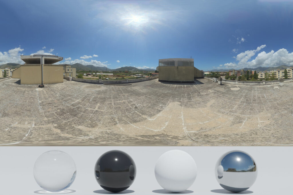 Download an Awesome HDRi buildings and terrace