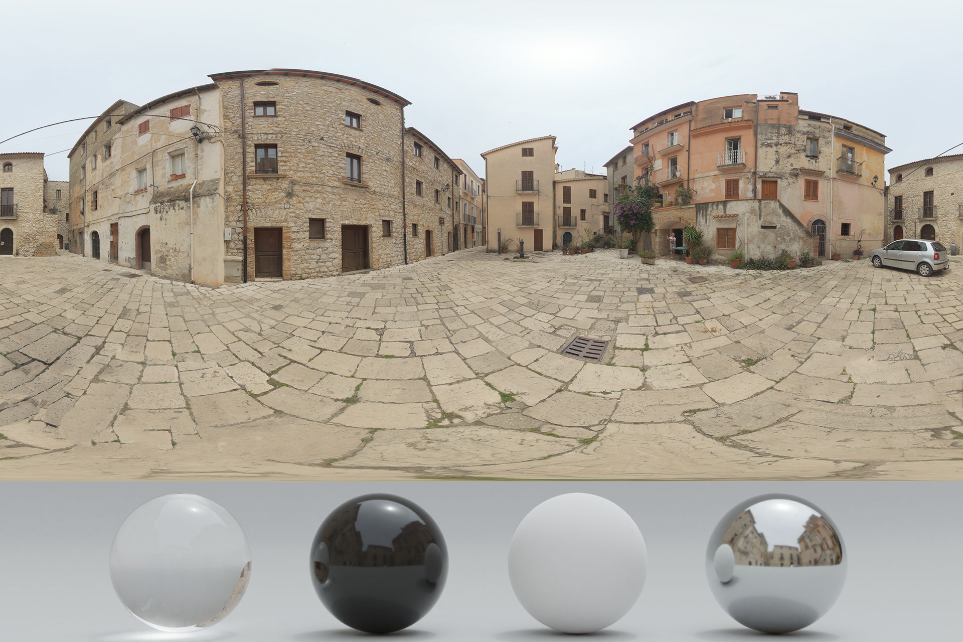 HDRi – Buildings and Clouds