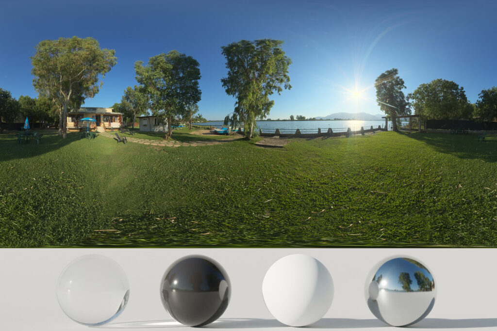 Download an Awesome HDRi Lake and Nature