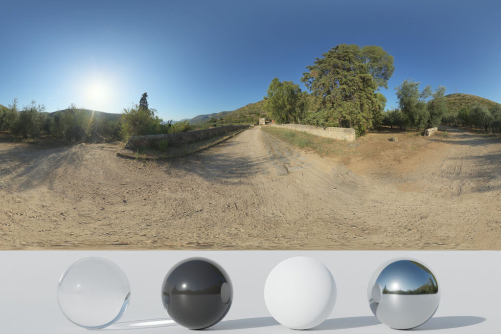 Download an Awesome HDRi Trees And Mountains