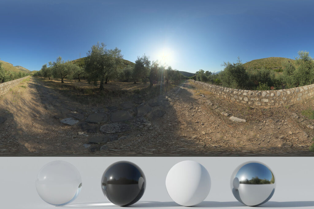 Download an Awesome HDRi Trail And Mountains