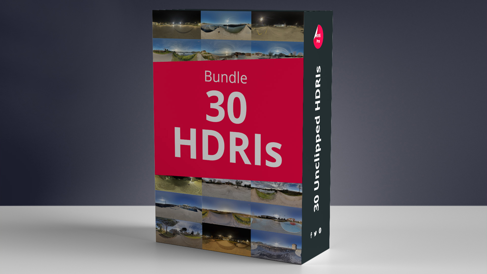 30 HDRIs Bundle
