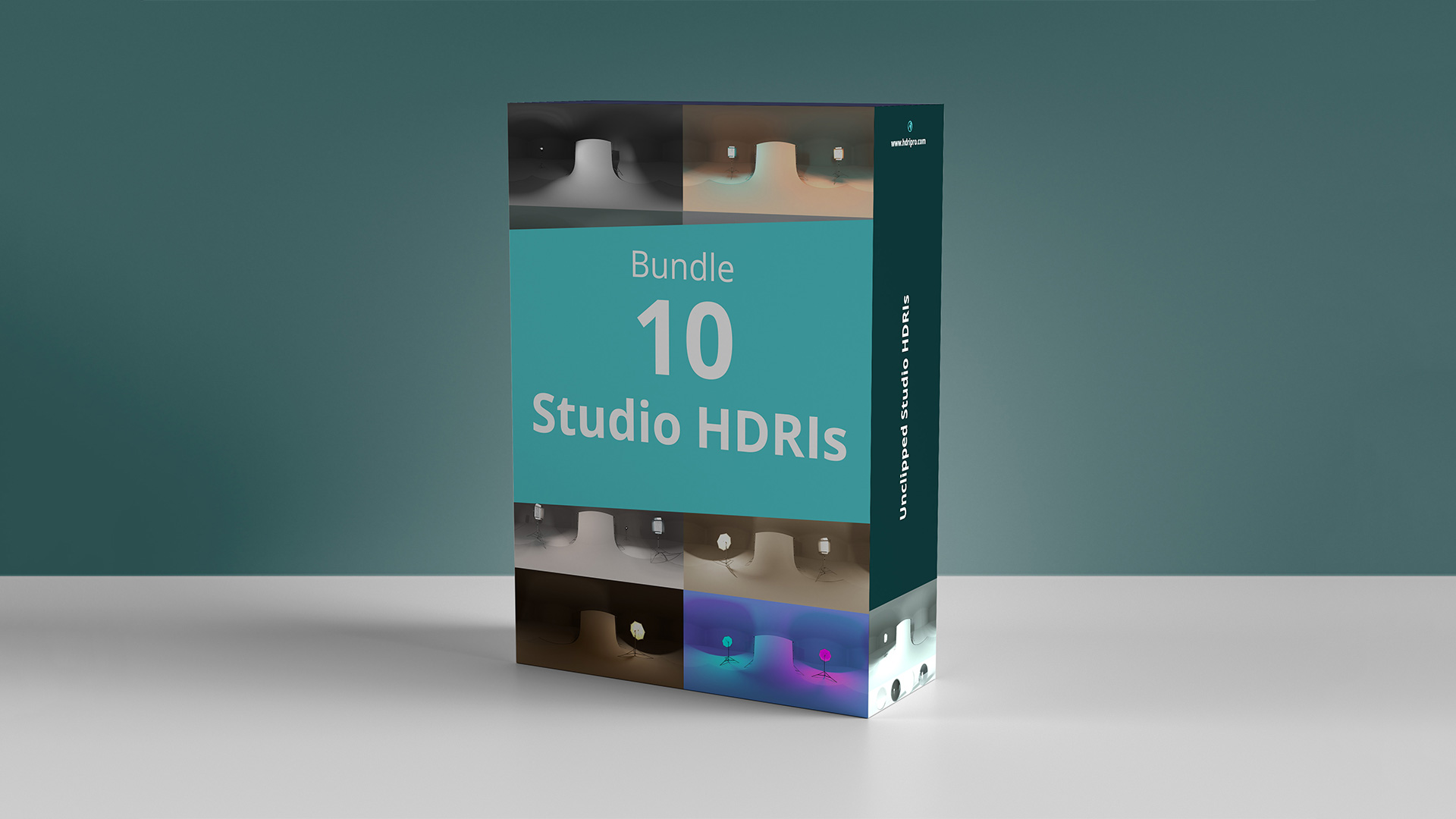 10 Studio HDRIs Bundle