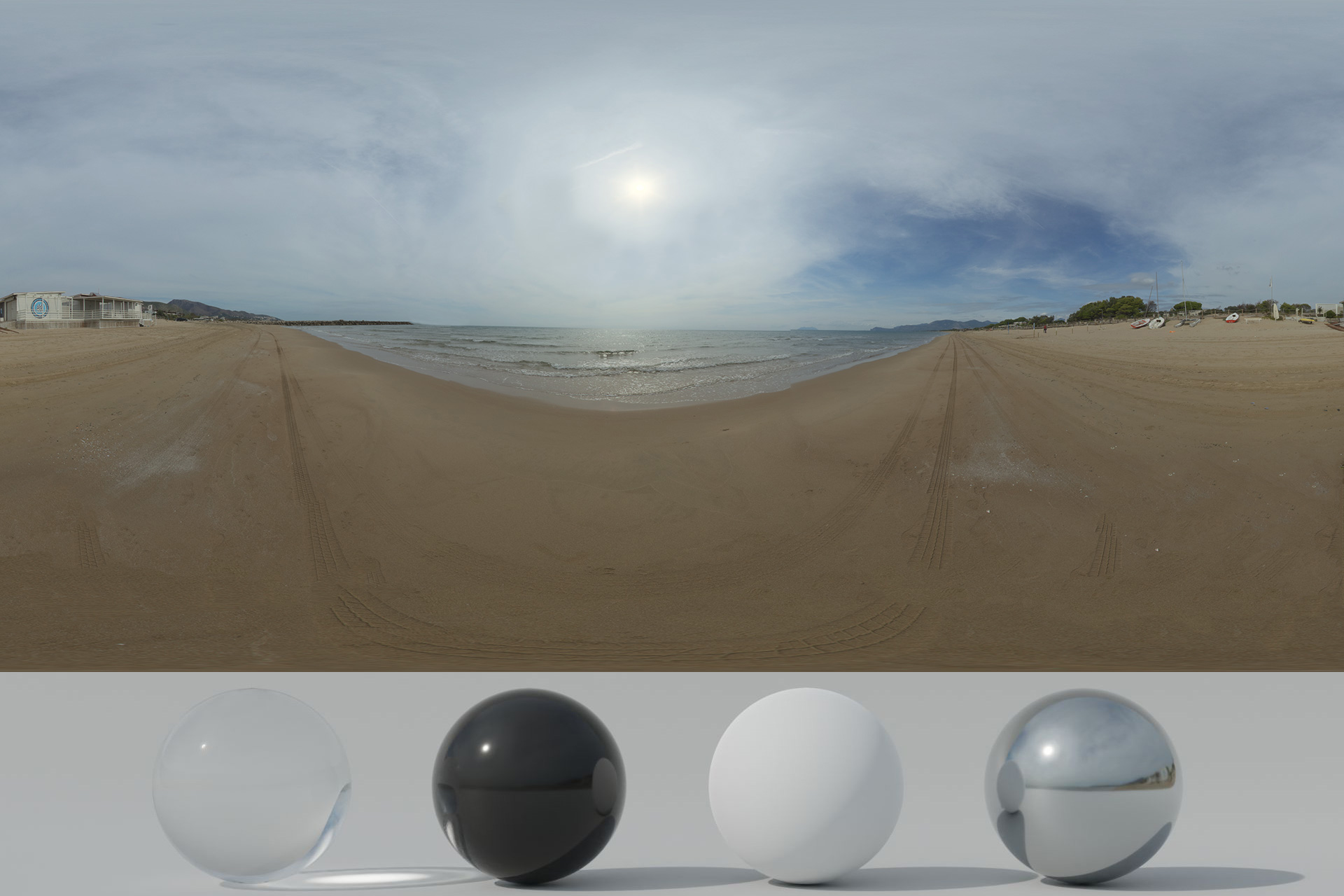 HDRi – Clouds and Sea