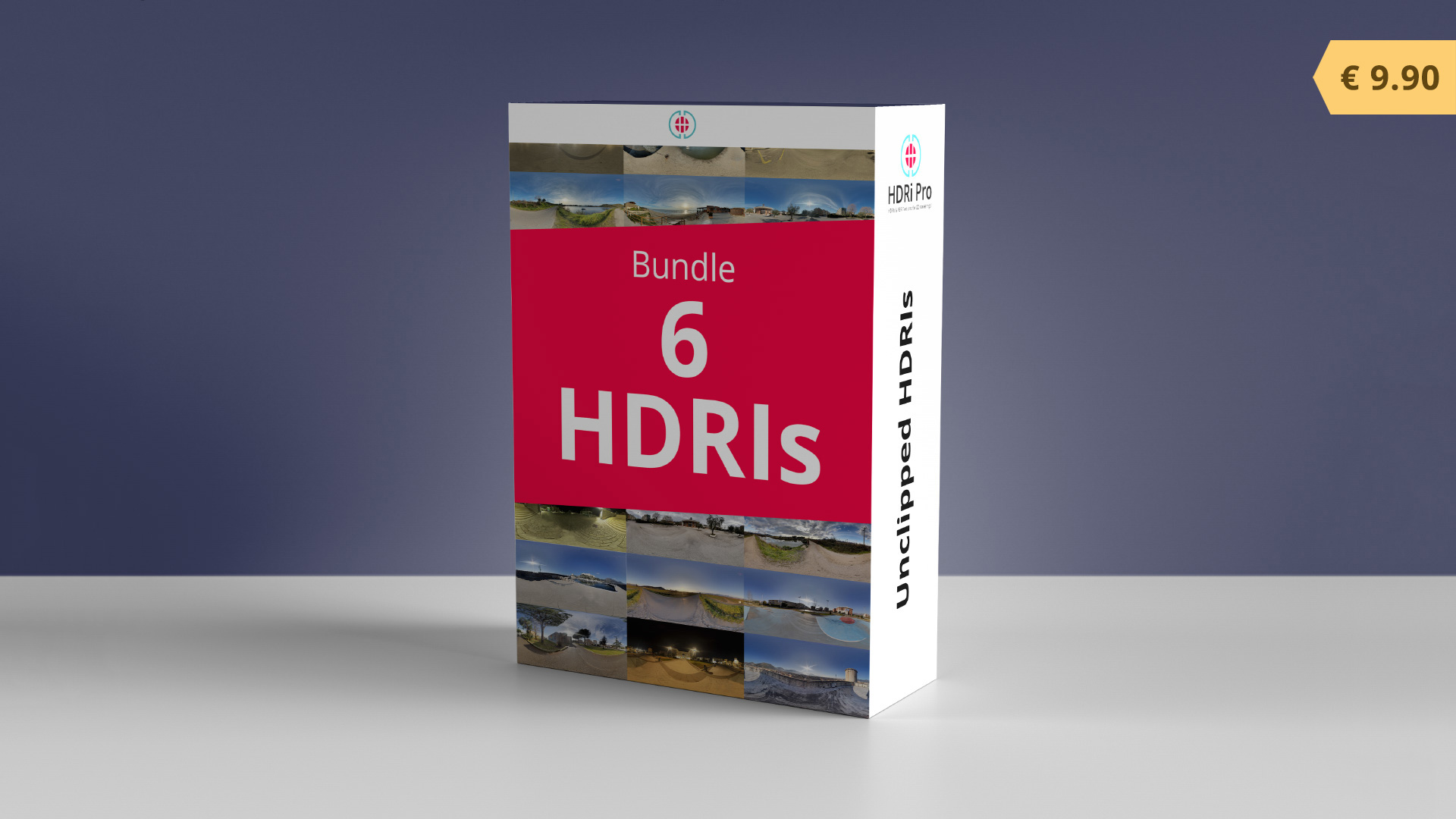 6 HDRIs Bundle