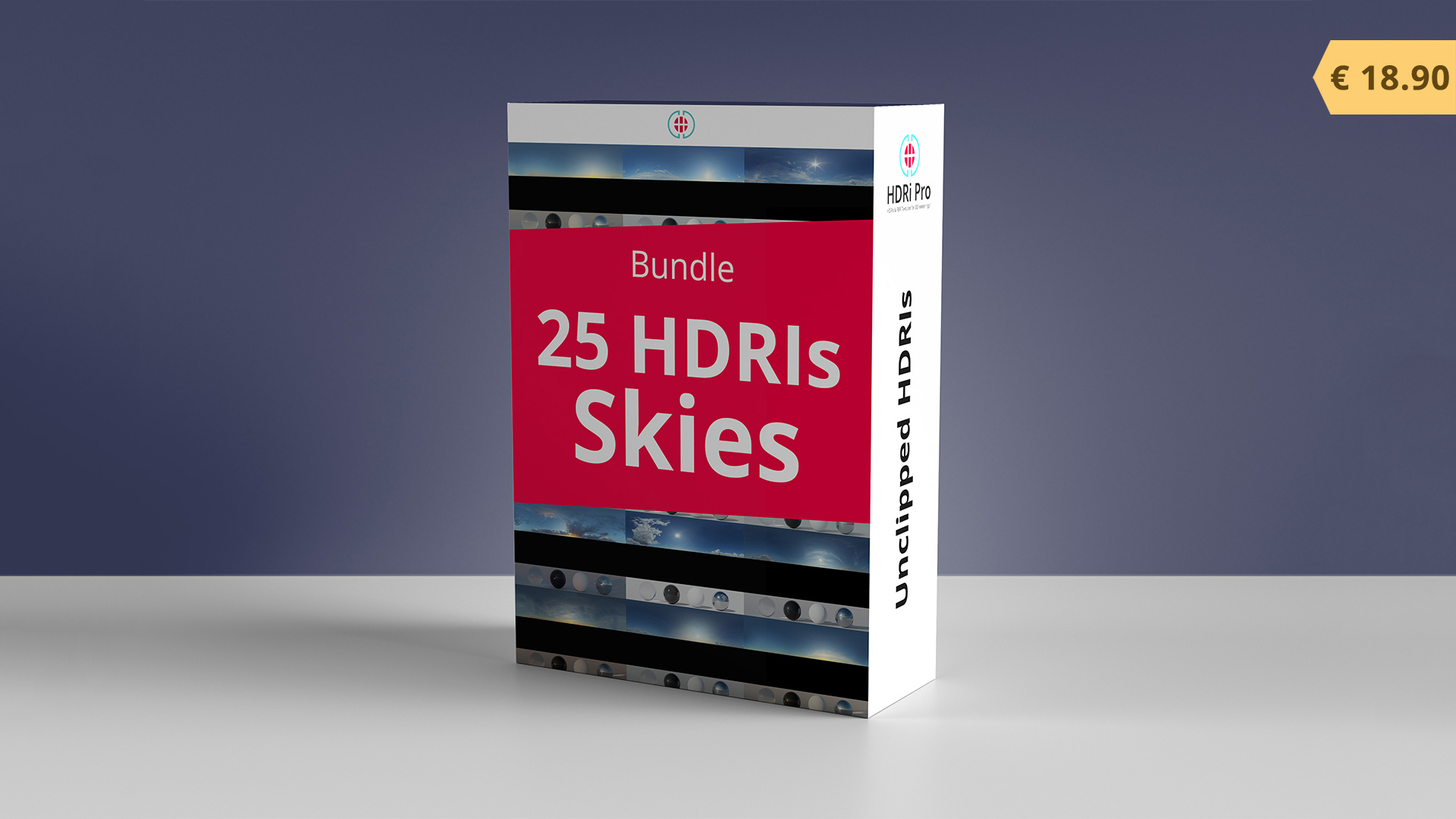 25 HDRIs Skies Bundle