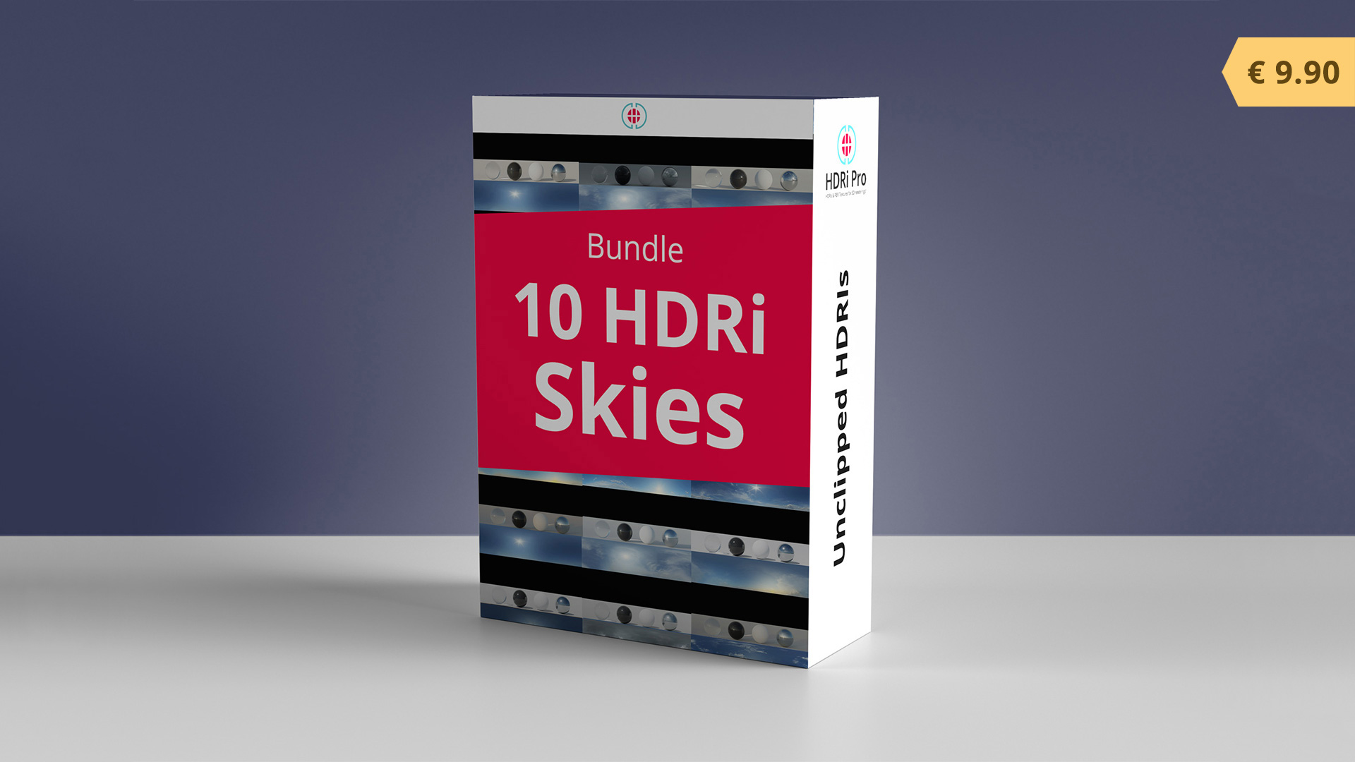 10 HDRIs Skies Bundle