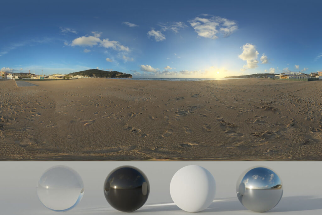 Download an Awesome HDRi Beach and Sunset