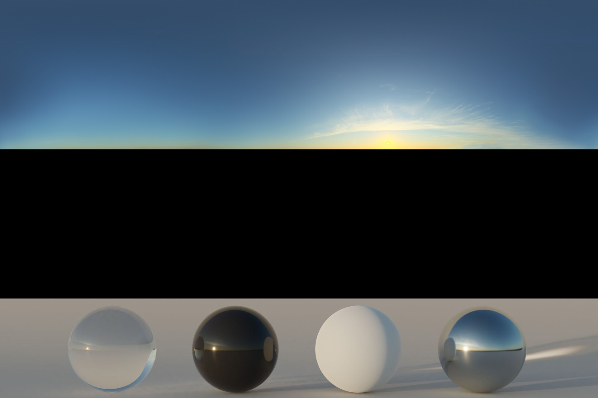 Download an Awesome HDRi Sky 023