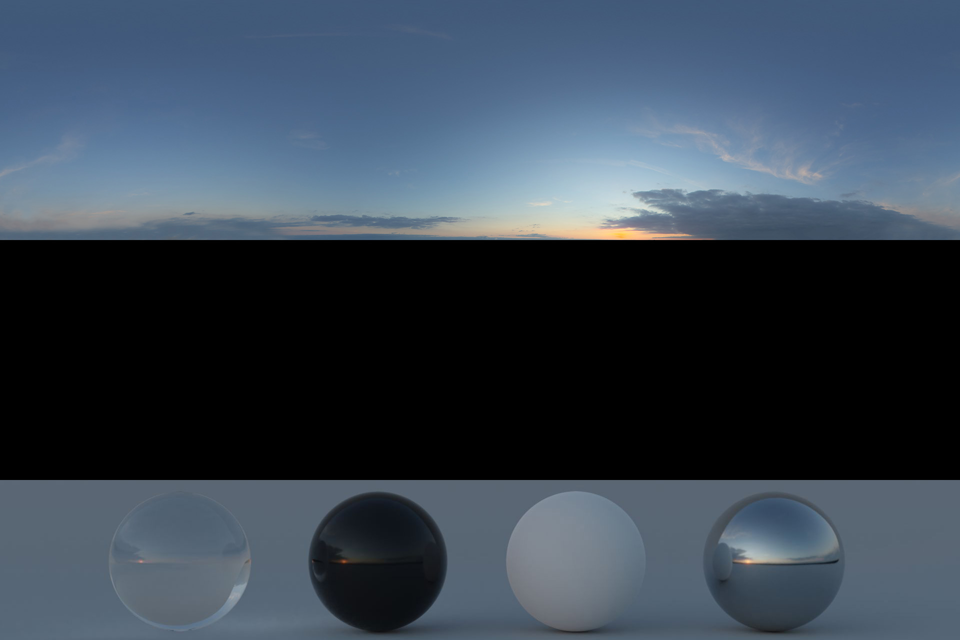 Download an Awesome HDRi Sky 025