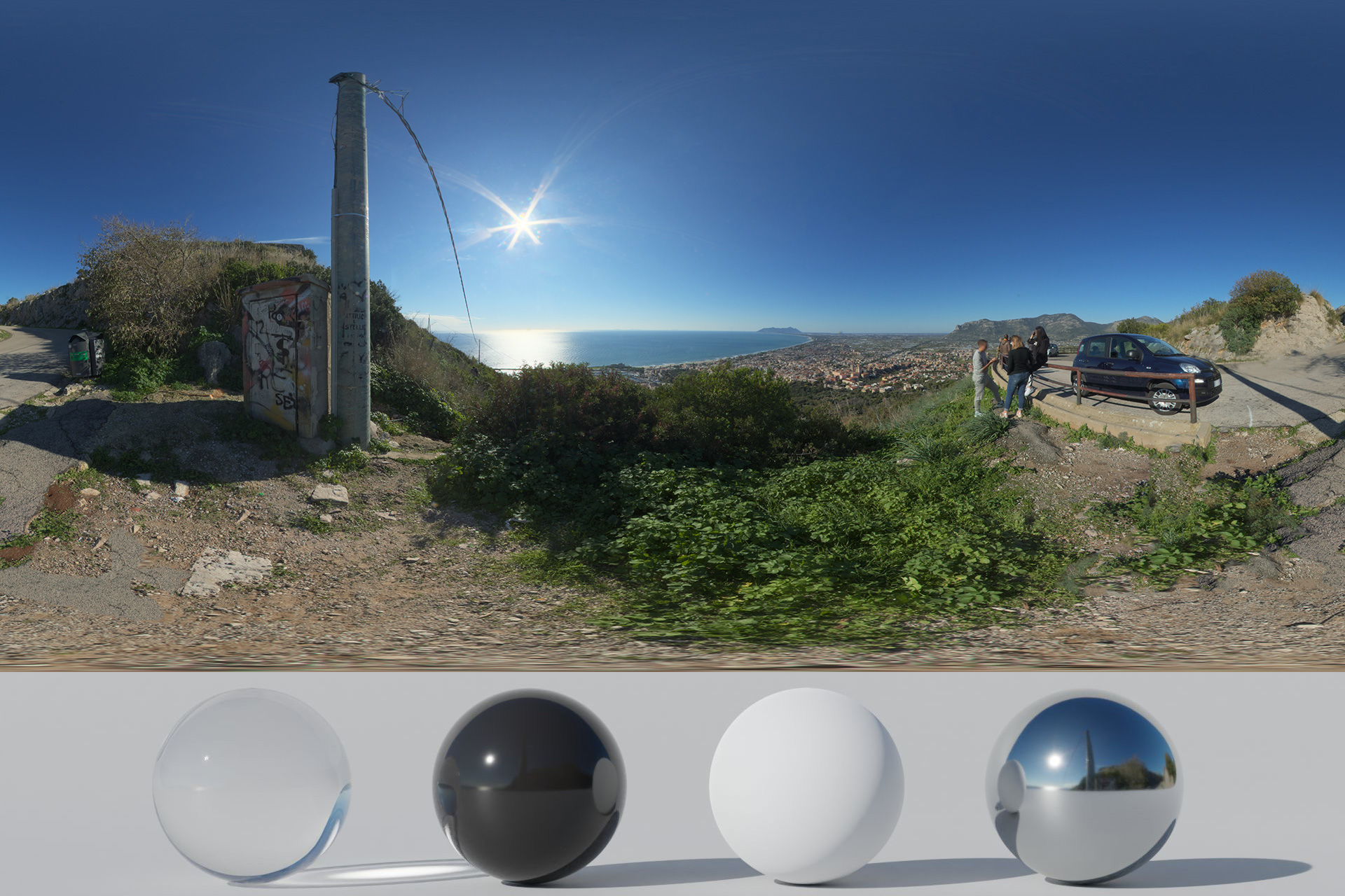 HDRi – Sea, Mountains And Panorama