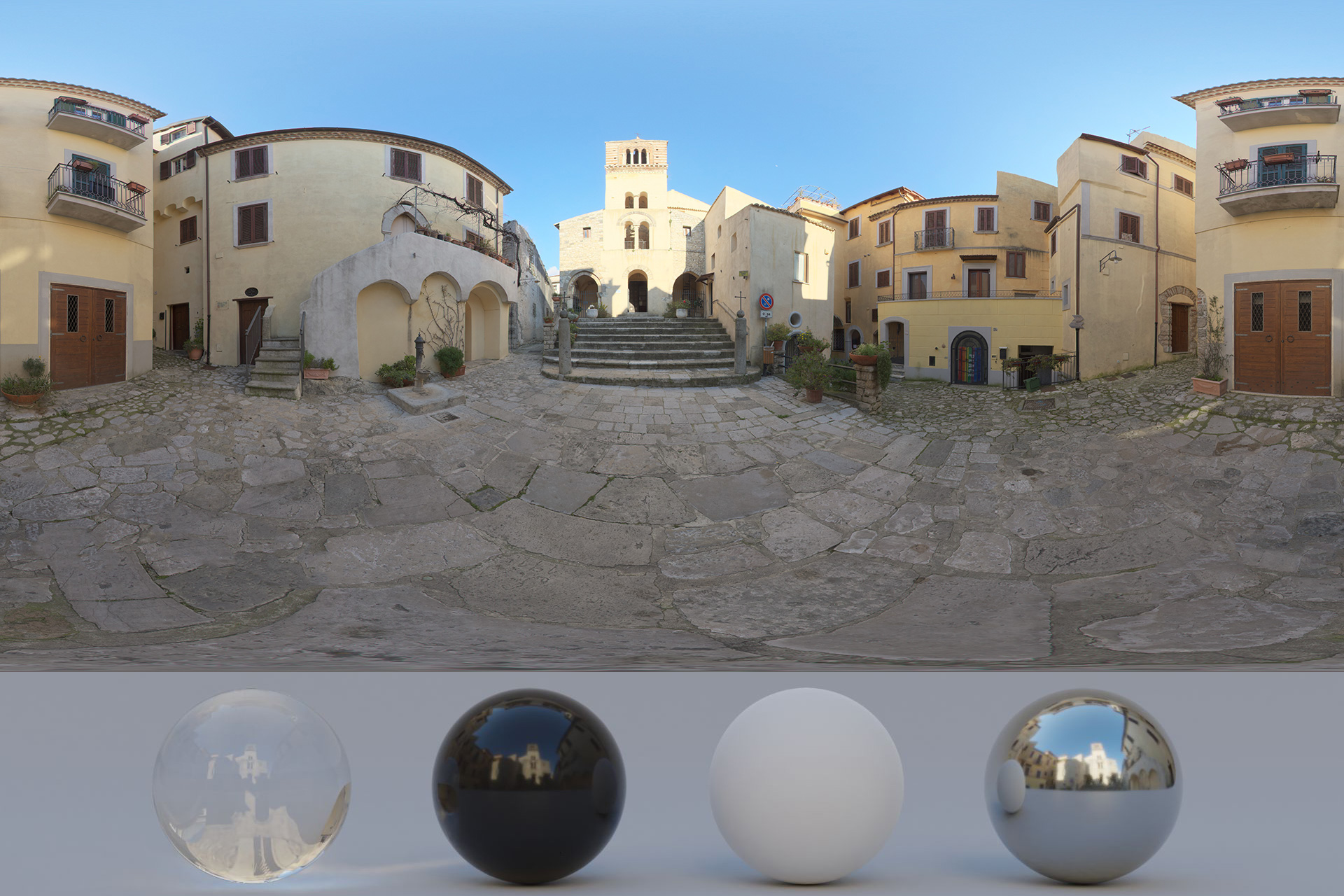 Download Awesome HDRi Italian Old Town